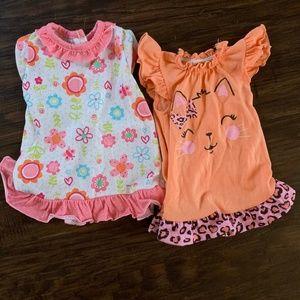 American Girl 2 Piece Nightgown